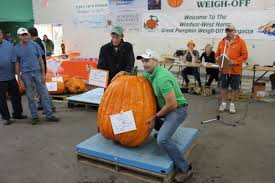 Atlantic Giant Pumpkin Record by New World Field Pumpkin Record Set At The Windsor Weigh Off