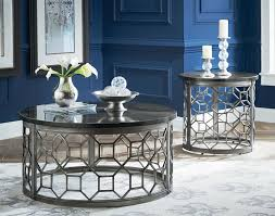 end table with granite top by standard furniture wolf and