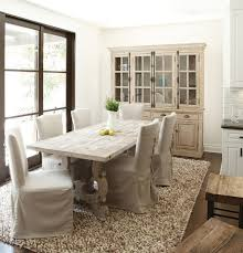 View In Gallery French Country Style Dining Room With A Stylish Hutch And Table Wood From