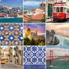 Portugese Travel Collage