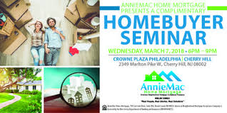 AnnieMac Home Mortgage Home er Seminar Tickets Wed Mar 7 2018