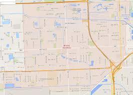 Miami Gardens Florida Map