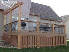 frames and paint make all the difference with lattice under porch
