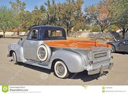 100 Chevy Stepside Truck Classic Chevrolet Editorial Image Image Of