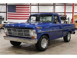 100 1969 Ford Truck For Sale F100 For ClassicCarscom CC1177566