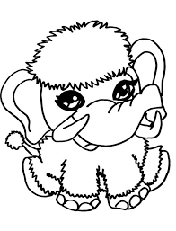 Monster High Pets Coloring Pages Shiver