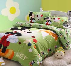 mickey mouse green bedding set decor crave