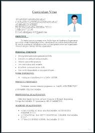 Resume Format Template Word Best Professional Templates Layout Samples Formats For Resumes