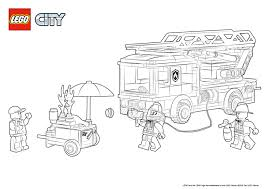 28+ Collection Of Lego City Fire Truck Coloring Pages | High Quality ...