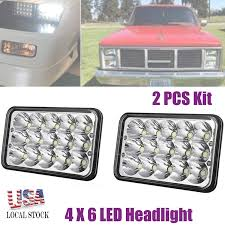 Amazon.com: 4X6 Inch LED Headlights For Trucks Cars GMC C1500 C2500 ... 1953 Gmc Truck Wiring Diagram Portal 83 Chevy K10 Lifted Diagrams Chevrolet Gmc Pocket Style Fender Flare Set Of 4 Oe Matte Aiden Winterss 1984 Sierra 1500 Classic On Whewell 1990 Parts Data Partsopen 93 New Arrivals At Jimus Used Cser Radiator Overflow Bottle 167158 For Sale At Hudson Co General Stock 1094 Details Ch Dash Schematics Hd Electrical Work 16465 Hoods Tpi