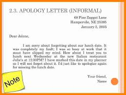 4 apologize letter to a friend