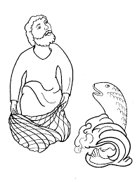 Coloring Page Fisherman Jobs 37