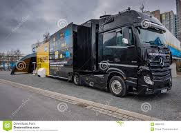 SAP Go Beyond CRM Demo Truck Stands At CeBIT Editorial Stock Photo ...