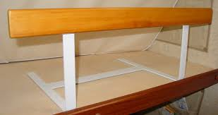 Dex Safe Sleeper Bed Rail by Another Custom Bunk Bed Safety Rail View 2 On The Road