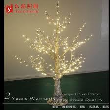 Waterproof Decorative Led Lighting Tree Warm White Twig Birch Trees For Christmas