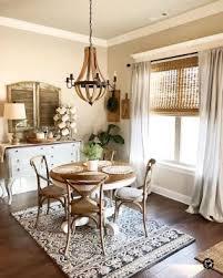 Stunning Rustic Farmhouse Dining Room Decor Ideas 85