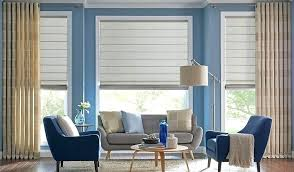 Roman Shades And Drapes Living Room Window Treatments Modern Houzz