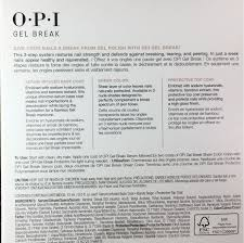 Opi Uv Lamp Instructions by Opi Too Tan Tilizing Ntp02 Gel Break Treatment System In 3 Steps