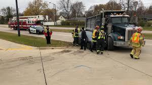 100 Dump Truck Crash Motorists Injured In With News WTAQ