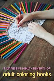 Health Benefits Of Adult Coloring Books