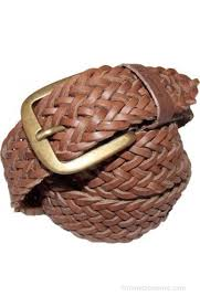 badger men women casual brown genuine leather belt brown 07