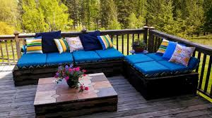 Pallet Patio Furniture Cushions Style Compact