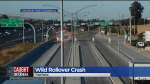 100 Truck Crashes Caught On Tape Harrowing Interstate 80 Crash Sends SUV Tumbling Past Scales