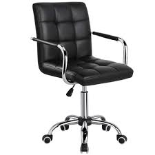 Yaheetech Desk Chair - Office Chair With Arms/Wheels For Teens/Students  Swivel Faux Leather Home Computer Black Buy Office Chair Ea 119 Style Premium Leather Wheels China High Back Emes Swivel Chairs With Yaheetech White Desk Wheelsarmes Modern Pu Midback Adjustable Home Computer Executive On 360 Barton Ribbed W Thonet S 845 Drw Wheels Bonded 393ec3 Star Afwcom Ikea Office Chair White In Bradford West Yorkshire Gumtree 2 Adjustable Ribbed White Faux Leather Office Chairs With Wheels Eames Style Angel Ldon Against A Carpet Charming Black Genuine Arms Details About Classic Without Welsleather Wheelsexecutive