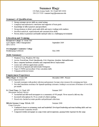 Inspirational Resume Samples College Student