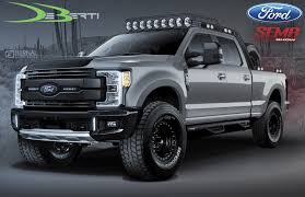 100 Ford Truck Lineup 1000 HP F150 Headlines S FSeries For SEMA Carscoops