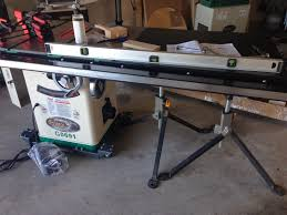 Used Grizzly Cabinet Saw by Wood Tools And Thoughts Setting Up A Grizzly G0691 Table Saw