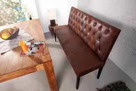 dunord sitzbank chesterfield braun antik look 165 cm retro küchen bank esszimmerbank
