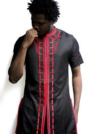 traditional african men dress with embroidery kipfashion