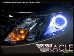 10 12 ford fusion led dual color halo rings headlights bulbs