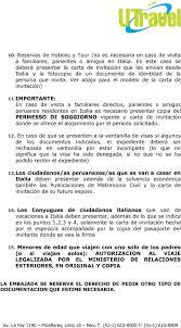Ambasciata D Italia Lima PDF