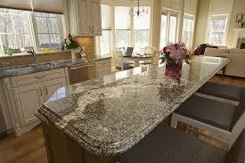 classic kitchen design with kitchen island granite countertop