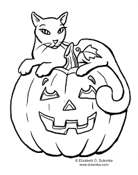 Halloween Pumpkin Coloring Pages Patch