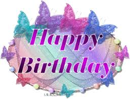 Happy Birthday to you Wish I could bake you a nice big cake Hope you have a wonderful day