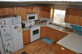 Narrow Kitchen Cabinet Ideas by Dark Cabinets In Small Kitchen Others Beautiful Home Design