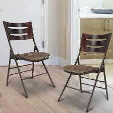 adecotrading tubular steel folding chair reviews wayfair