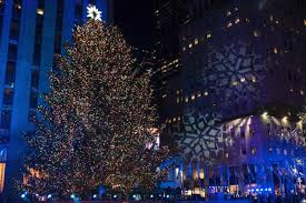 rockefeller tree lighting attracts thousands ny daily news