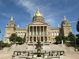 The Iowa State Capitol Building In Des Moines Shutterstock