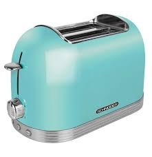 Retro Toaster 2 Slices Mint Green
