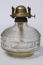oil ls lot collection of old glass l bases for kerosene ls