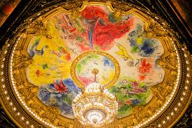 marc chagall 1964 opéra garnier peinture marc chagall