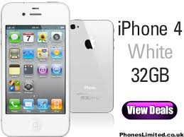 iPhone 4 White 32GB Pay As You Go Released Today – Phones Limited