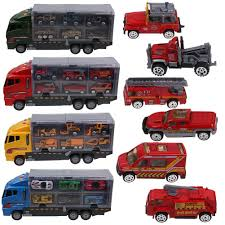 100 Demolition Truck 7pcs Kids Cars Toy Construction Excavator Digger