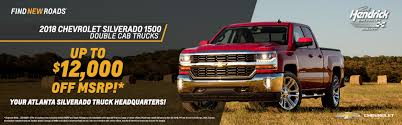 100 Chevy Truck Specials 2018 Chevrolet Silverado 1500 Double Cab S Rick Hendrick