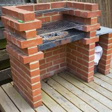 comment bien faire un barbecue comment construire un barbecue en brique