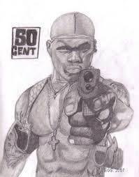 50 Cent By CrimsonartX